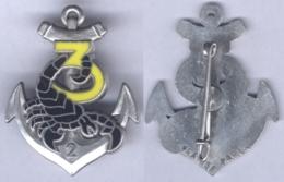 Insigne De La 3e Compagnie Du 2e Régiment D'Infanterie De Marine - Esercito