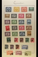 1896-1947 MINT REFERENCE/DISPLAY COLLECTION An Attractive And Unusual Collection Constructed As A Reference Guide For Po - Ecuador