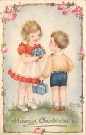 PETERSEN HANNES - Couple D'enfants, Heureux Anniversaire. - Petersen, Hannes