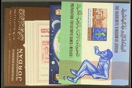 1963-1967 MINI-SHEETS. Superb Never Hinged Mint Miniature Sheets With Light Duplication, Includes 1963 UN (x4), 1964 Ken - Jordan