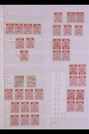 1918-19 SUN RAY ISSUES - A HIGHLY SPECIALISED COLLECTION A Delightful Very Mint And Fine Used Collection, Incl. Many MA - Lettonie