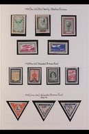 1918-1940 BEAUTIFUL COLLECTION An Extensive Mint And Used Collection In An Album With Many Good Sets Present, Starts Wit - Lettonie