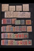1919-1940 ATTRACTIVE COLLECTION In A Small Stockbook, Fine Mint & Used (often Both) Stamps, Includes 1919 (Feb) Set Used - Lithuania