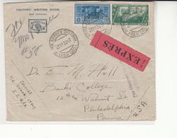 Italy / Express Mail / U.S. / America Express / Genoa - New York Ship Mail - Italia