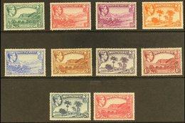 1938 Pictorials Original Set Perf 13, SG 101/110, Very Fine Mint, Fresh. (10 Stamps) For More Images, Please Visit Http: - Montserrat