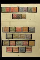 1916-1935 MINT COLLECTION In Hingeless Mounts On A Page, Inc 1916-23 Opts Most Vals To 1s, 1924-48 Set Mostly Shiny Pape - Nauru