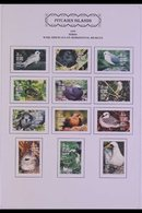 1994-1999 COMPLETE VFU COLLECTION An Attractive, Very Fine Used Collection Presented On Sleeved Album Pages, Complete Fo - Pitcairn Islands