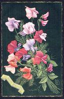 Fleurs - Bouquet -  Circulé Sous Enveloppe - Circulated Under Cover - Gelaufen Unter Umschlag. - Flowers, Plants & Trees