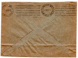 PARIS VIII / Rue De La Boetie 1932 = FLAMME PROTOTYPE RBV MUETTE  ' 7 Lignes égales  ' DREYFUSS B 08151 Cote 200€ - Postmark Collection (Covers)