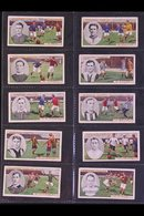 W.A. & A.C. CHURCHMAN 1914 FOOTBALLERS Original Complete Set Of 50, Some With Minor Spots On Reverse But Otherwise Fine  - Cigarette Cards