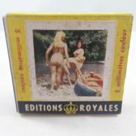 Vintage XXX Adult Super 8mm Porn Movie -  Editions Royales Au Fil De L'eau - RARE - Autres Collections