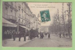 LE PUY EN VELAY : Les Promenades De La Place Du Breuil. 2 Scans. Editition Margerit Brémond - Le Puy En Velay