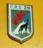 C.R.S. 29, Dos Guilloché, Fixation 2 Anneaux,FABRICANT DRAGO PARIS ,HOMOLOGATION SANS, ETAT VOIR PHOTO  . POUR TOUT RENS - Polizia