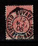 Guyane - ST LAURENT DU MARONI Sur YV 44 , Obliteration De Concours - Guayana Francesa (1886-1949)