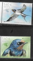 ESTONIA, 2019, MNH, BIRDS, EUROPA 2019,  2v - 2019