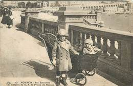 MONACO - Les Terrasses, Les Enfants De S.A. Le Prince De Monaco. - Terraces
