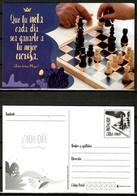 Cuba 2018 / Chess Postal Stationary Card MNH Ajedrez Tarjeta Postal Schach / Cu13212  35 - Ajedrez