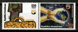 Dominicana 2015 Dominican Rep.  / UPAEP Combating Trafficking MNH Lucha Contra La Trata / Cu13213  1 - Joint Issues
