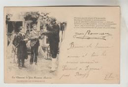 CPA PIONNIERE FOLKLORE BERRICHON DE JEAN RAMEAU MUSIQUE COSTUMES - La Leçon De Cornemuse - Musik