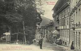 Les Basses Pyrénées EAUX BONNES  Grand Hotel De France Et Jardin Darralde Labouche RV - Eaux Bonnes