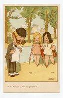 Illustrateur Signé A. LELLY . Politique Sociale . Les Suffragettes . Le Droit De Vote Des Femmes - Political Parties & Elections