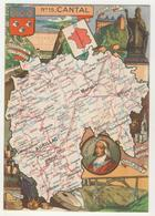 J.P. Pinchon - N° 15  -  Cantal - Other Illustrators