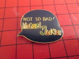 713i Pin's Pins / Beau Et Rare / THEME : MUSIQUE / NOT SO BAD MICHAEL JACKSON Un Peu Vicieux Quand Même - Musique