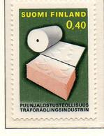 PIA - FINLANDIA - 1968 : Industria Nazionale De Legno  - (Yv 615) - Neufs