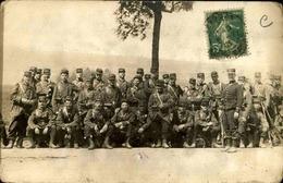 MILITARIA - Carte Postale Photo - Groupe De Soldats En Manœuvres - L 29677 - Manovre