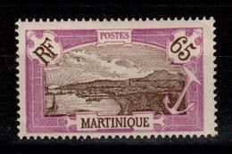 Martinique - YV 122 N** Gomme Coloniale - Nuevos