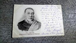 Paul Kruger Président De La République Du Transvaal 1900 Afrique Du Sud - People