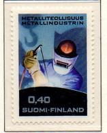 PIA - FINLANDIA - 1968 : Industria Metallurgica  - (Yv 619) - Neufs