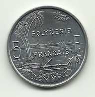 1994 - Polinesia Francese 5 Francs - Polinesia Francese