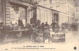 Sur Le Front Des Armées Britanniques Une Cuisine En Plein Air Dans Le Nord De La France - Oorlog 1914-18