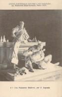 Ligue Nationale Contre L'Alcoolisme Section De Tunis Puissance Moderne Statue De Legrain - Health