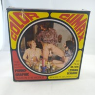 Vintage XXX Adult Super 8mm Movie -  Color Climax 1279 Lesbian SexGame - Other Collections
