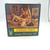 Vintage XXX Adult Super 8mm Movie -  Color Climax Expo Film No 44 Lesbian Party - Other Collections