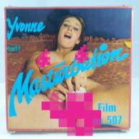 Vintage XXX Adult Super 8mm Movie - Color Climax Yvonne Masturbation 507 Denmark - Autres Collections