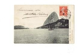Cpa - Brazil - RIO De Janeiro - Baie De Rio - Ed. Gradim. - 1908 - Rio De Janeiro