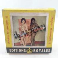 Vintage XXX Adult Super 8mm Movie - Royales Une Noire Vaut-elle Une Blanche? - Autres Collections