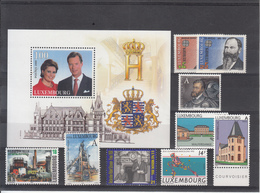 Luxembourg / Different Themes - Timbres