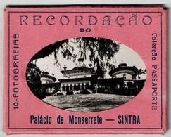 SINTRA -Recordação Do  Palacio Monserrate 10 Fotografias( Ed.Colecção Passaporte) Photo - Lisboa