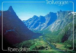 TROLLVEGEN - ROMSDALEN - Affr Philatélique - Norway