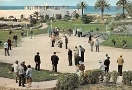 Tunisie - SKANES - Résidence El Shems - Le Terrain De Pétanque - Joueurs De Boules - Tunisia