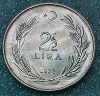 Turkey 2½ Lira, 1978 -0442 - Turkey