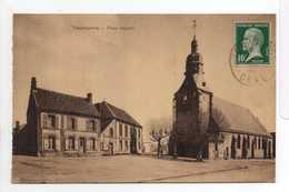 - CPA TOUROUVRE (61) - Place Juignet 1925 - Edition V. Casteran - - Other Municipalities