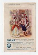 CPA Publicité Etablissements Deschiens Hémoglobine Paris Histoire Du Costume (vers 1630) Moyen-âge Pharmacie - Publicité