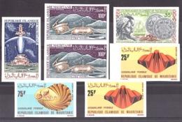 Mauritanie - 1972 - Lot De Timbres Non Dentelés - Neufs ** - Mauritania (1960-...)