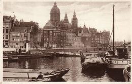 HOLLAND-AMSTERDAM-PRINS HENDRIKKADE-VIAGGIATA 1933 - Amsterdam