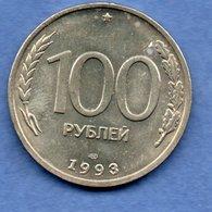 Russie --  100 Rouble 1993 -  Km # 338 -  état  SPL - Russie